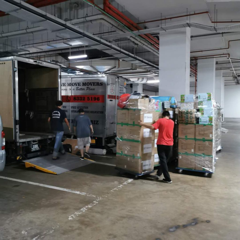 Commercial Mover Services
