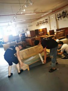 Luxury furniture packing and moving